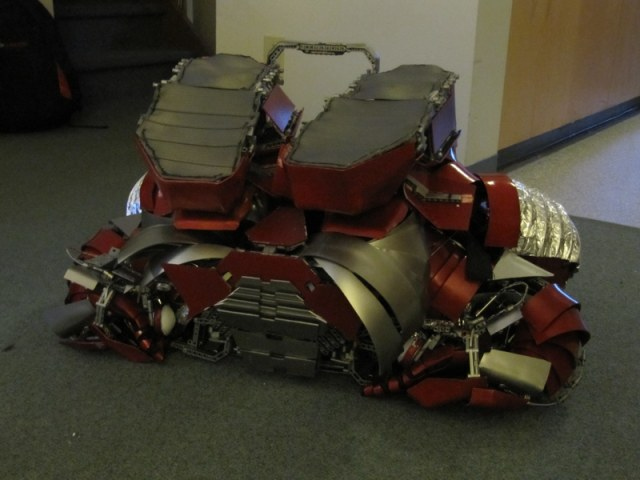 Iron Man Mark V Armor Suit with the Capability of Transforming Briefcase