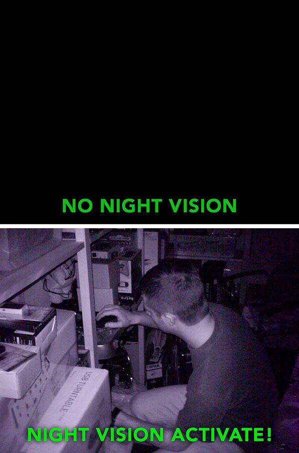 Midnight Shot Nv 1 Night Vision Digital Camera Gadgetsin