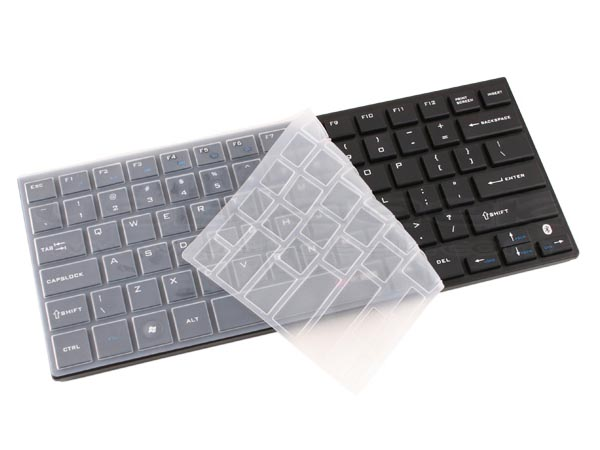 Mini Bluetooth Keyboard with Silicone Cover