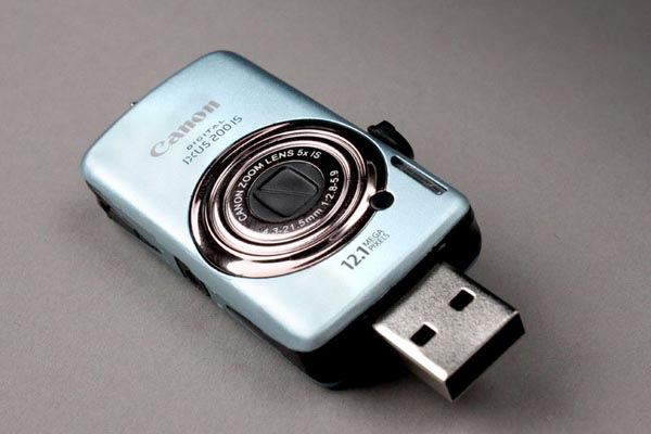 Mini Camera Styled USB Flash Drives