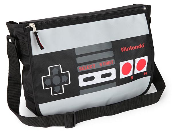 NES Controller Styled Messenger Bag
