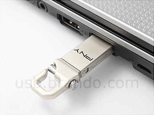 PNY Hook Attache USB Flash Drive