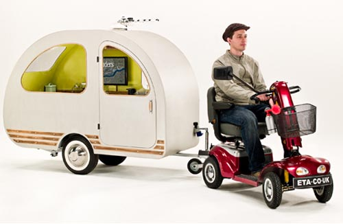 QTvan Mobility Scooter Caravan for Riders Loving Travels