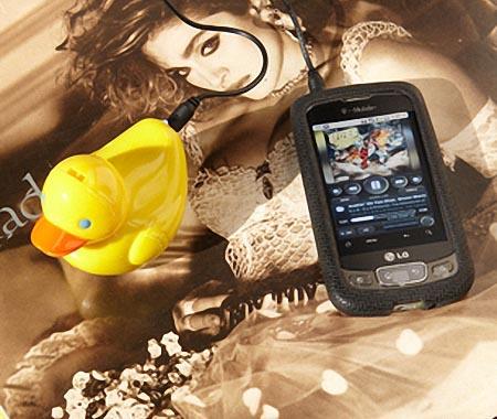 Rubber Duckie Portable Speaker