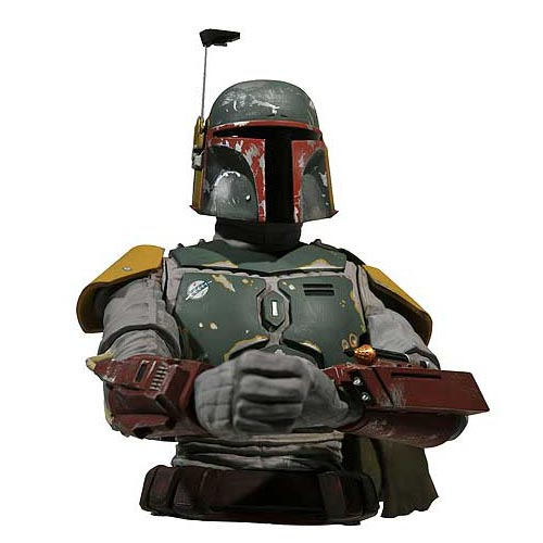 Star Wars Boba Fett Bust Money Bank