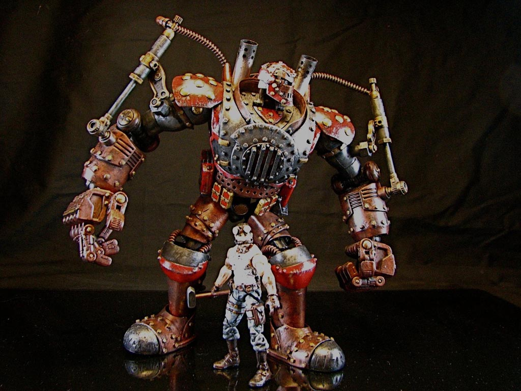 Toys For Gentleman : Steampunk iron man custom action figure gadgetsin