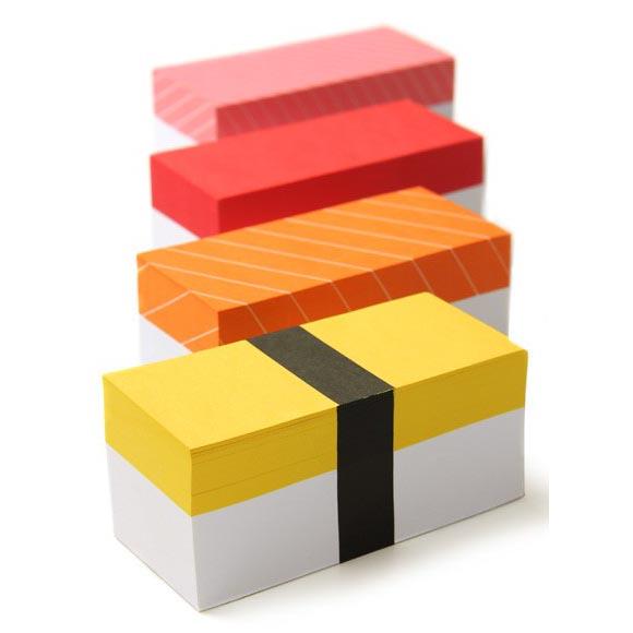 Sushi Memo Block Set