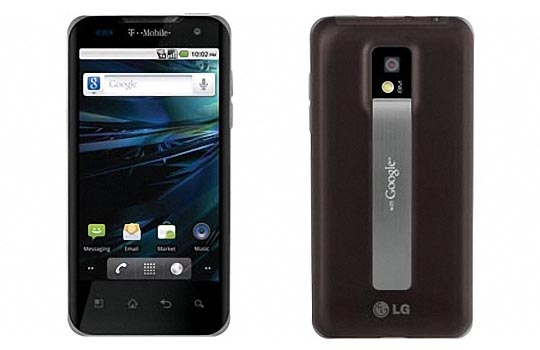 T-Mobile LG G2x Android Smart Phone