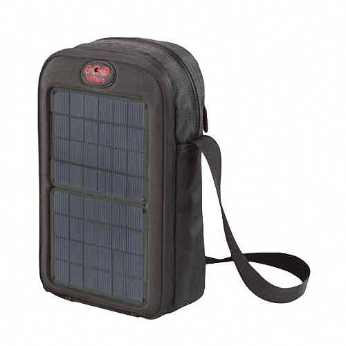 Voltaic System Switch Sling Bag with Solar Charger