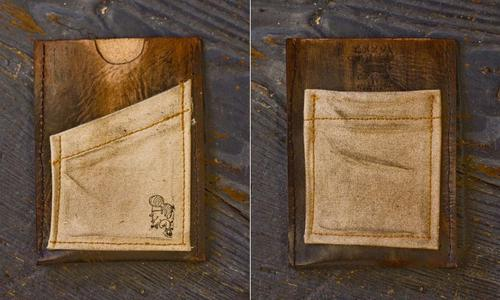 CXXVI Handmade Leather iPhone Wallet