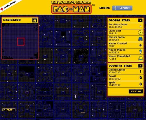 The Biggest Pacman Arcade Game in the World