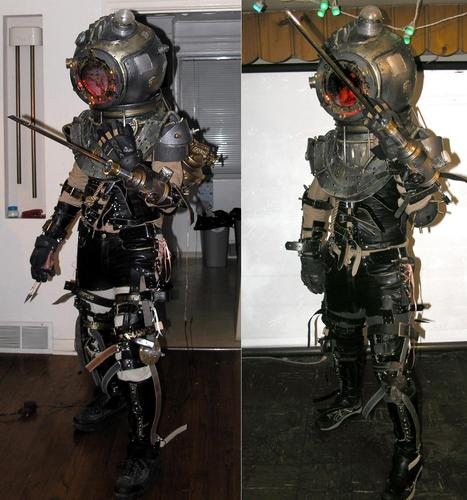 Incredible Bioshock 2 Big Sister Costume