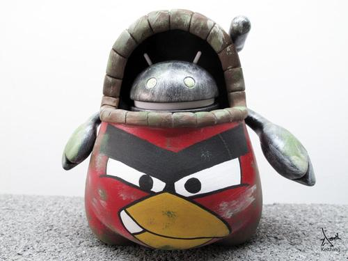 Android x Angry Bird Collectible Figure