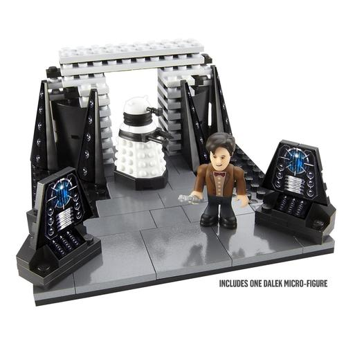Doctor Who Tardis and Dalek Spaceship Mini Play Sets