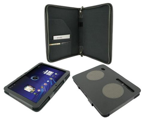 RooCASE Motorola XOOM Leather Case