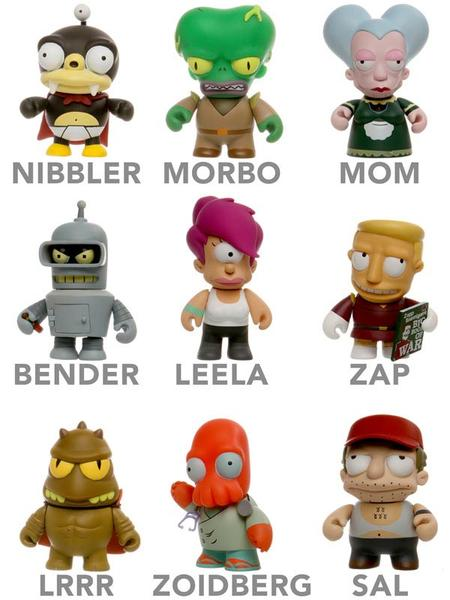 Limited Edition Futurama Mini Collectible Figures