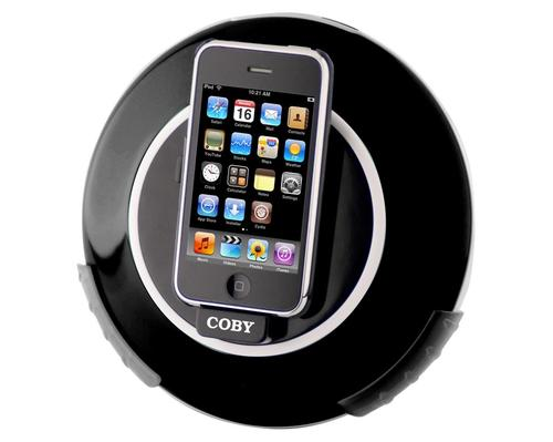 Coby CSMP105 iPod Dock Speaker and Charger