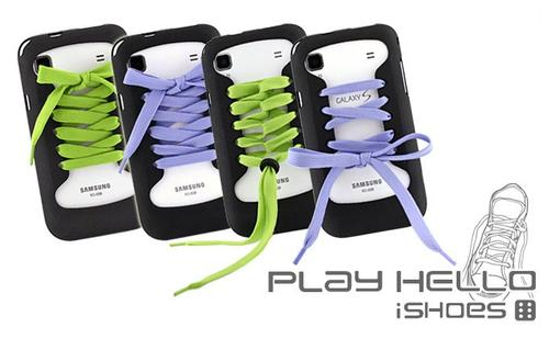 Play Hello iShoes Samsung Galaxy S Case