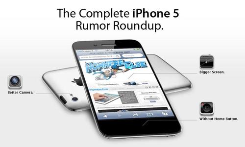 iPhone 5 Rumor Collection Infographic