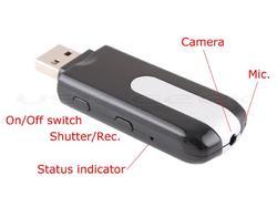 USB Flash Drive Styled Mini HD Video Camera
