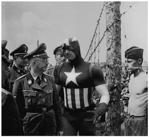 Superheroes in History