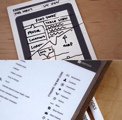 iPad Styled Dry Erase Board