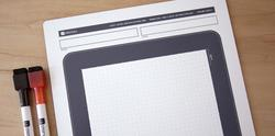 iPad Styled Dry Erase Board