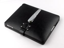 Menotek iPad Leather Case with Detachable Bluetooth Keyboard