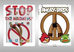 Full Body Angry Birds iPad 2 Decals