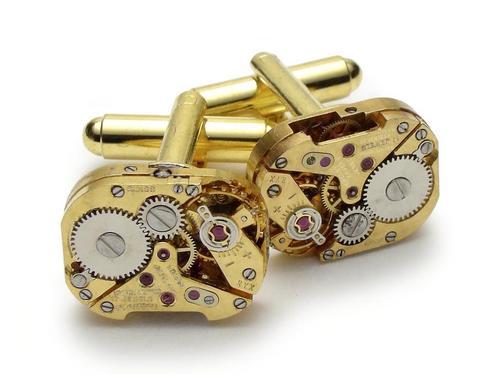 Handcrafted Steampunk Styled Cufflinks