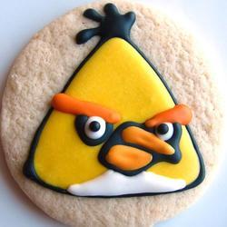 Handmade Angry Birds Sugar Cookies