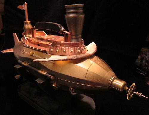 Airship Elizabeth Steampunk Handbag