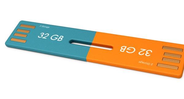 2-Storage USB Flash Drive