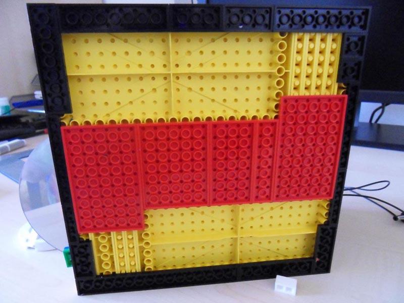 Computer Case Made Of Lego Bricks Gadgetsin