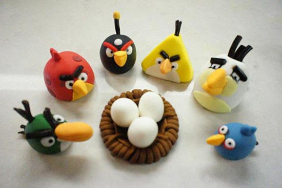 Cupcake Nests for Angry Birds