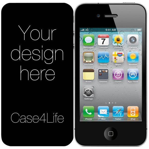 Design You Own LifeJacket iPhone 4 Case