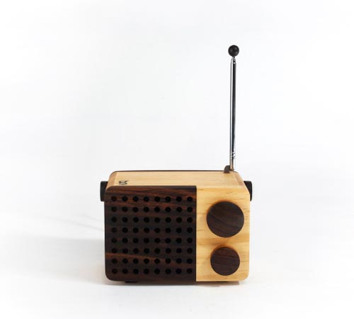 Handcrafted Magno Portable Radio