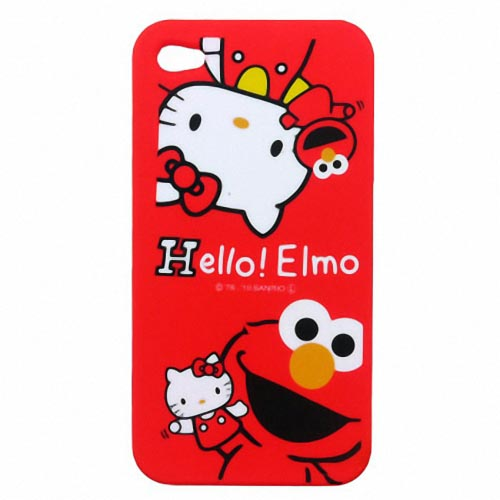 Hello Elmo iPhone 4 Case