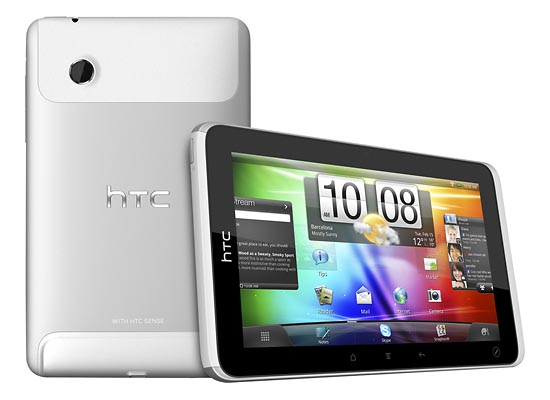 HTC Flyer Android Tablet Now Available