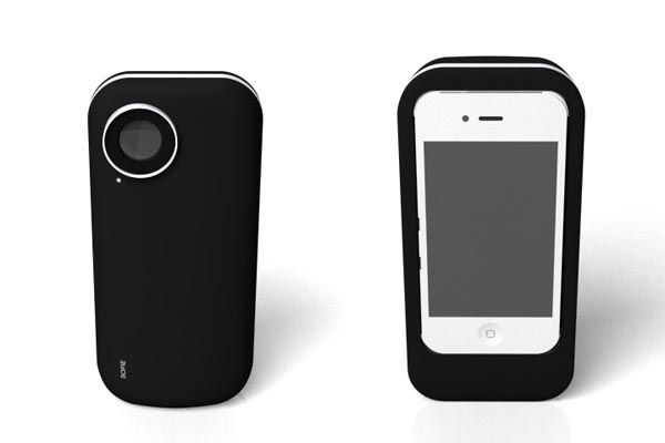 Incredible iPhone 4 Case with Polaroid Printer