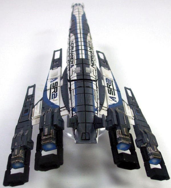 Mass Effect SSV Normandy SR-2 Ship Replica