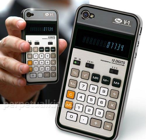 Old-School Calculator iPhone 4 Case