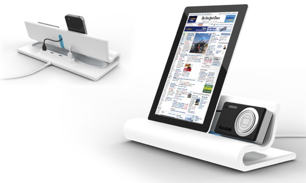 Quirky Converge Docking Station For Your Iphone Ipad And