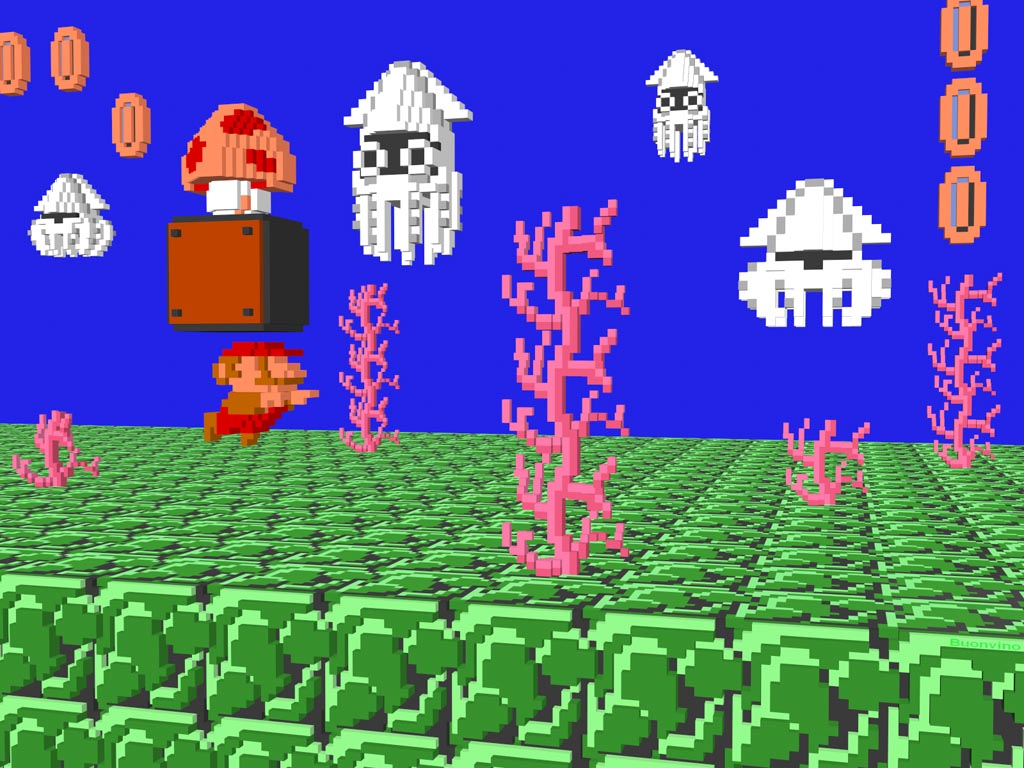 retro nes games got new 3d life