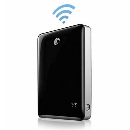 Seagate GoFlex Satellite Wireless External Hard Drive