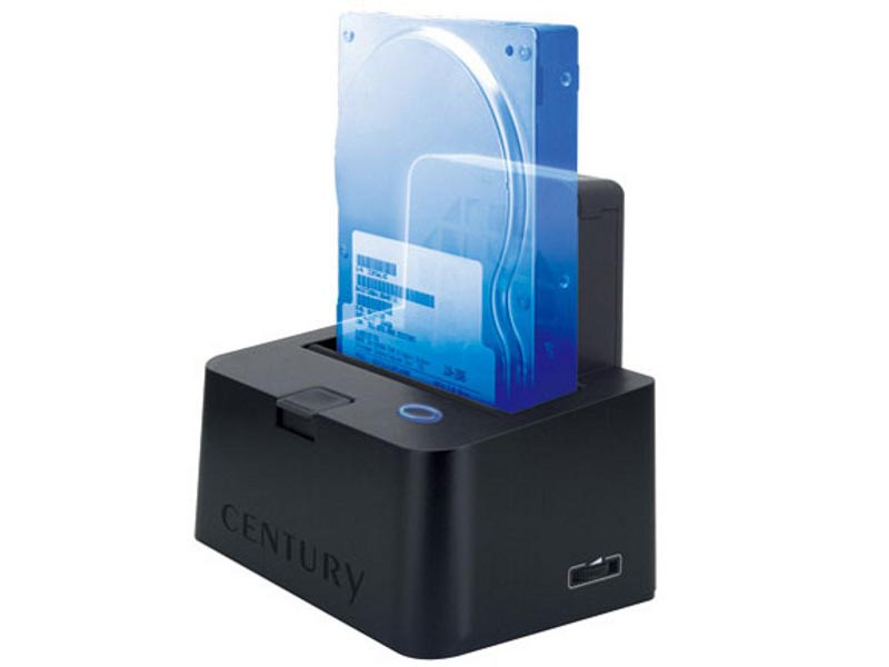 SSD HDD Docking Station with Cooling Fan