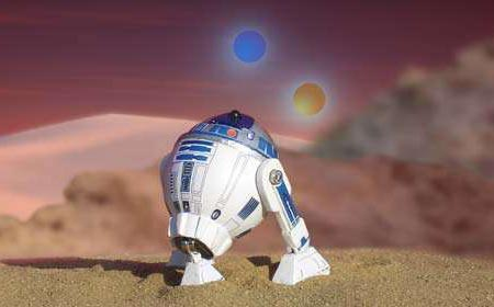 Star Wars R2-D2 Made of Egg