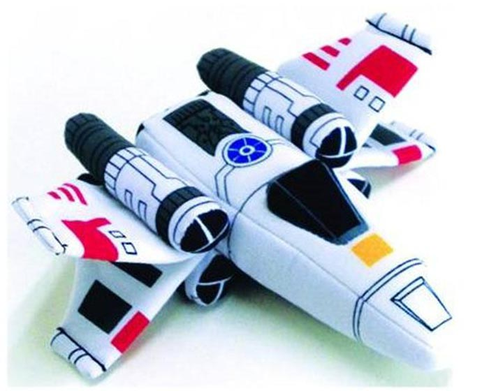 Star Wars Super Deformed Vehicle Plush Toys -X-Wing