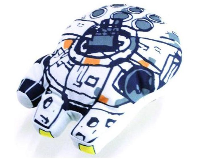 Star Wars Super Deformed Vehicle Plush Toys -Millennium Falcon