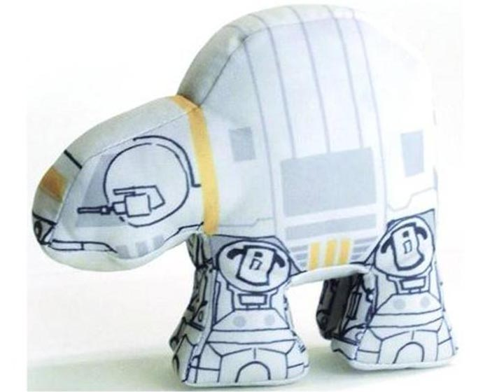 Star Wars Super Deformed Vehicle Plush Toys -AT-AT
